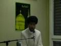 Bad actions destroy ur life  - Syed Mohammad Reza Jan Kazmi - Geneva 2011 mj 4 - English