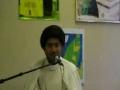 Bad actions destroy ur life  - Molana syed m r jan kazmi - Geneva 2011 mj 5- English