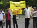 [Quds Day 2011] Protest in Moskva, Moscow Russia - All Languages