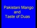 pakistani mangoes and taste of dua by aga ali murtaza zaidi-urdu