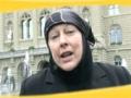 Yvonne Ridley - 29Oct2011 Day Against Islamophobia and Racsim in Bern - English