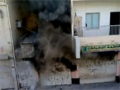Police attack protesters in Sanabis village near Manama, Bahrain - 23 Sept 2011 part2 - All Languages