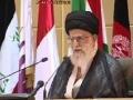 [ARABIC][1October11] كلمة آية الله خامنئي لدعم الانتفاضة الفلسطينية