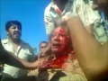 [GRAPHIC] ***EXCLUSIVE** Gaddafi captured alive- RAW FOOTAGE - All Languages