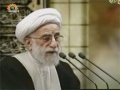 Tehran Friday Prayers - 25 November 2011 - آيت اللہ  جنتى - Urdu