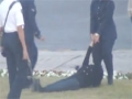 Bahrain - Blogger and rights activist Zainab al-Khawaja dragged away by Police - 15Dec2011 - English