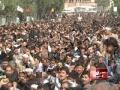 کراچی میں حضرت امام حسین کے چہلم کا مرکزی جلوس - HTNEWS - Urdu
