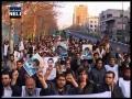 Arbain 2012 Students protests against Terrorism اربعین عزاداری دانشجویان - Farsi