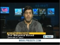 US waging a WAR on IRAN - Professor Mohammad Marandi - Jan 2012 - English