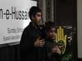يوم حسين ع  2008 Noha by Farman and Jahanzeb of Sunday School Hussaini Calgary– Urdu