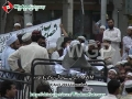 [9 April 2012] Sipahe Yazeed (Sahaba) chanting against MWM protest at parliament house Islamabad - Urdu