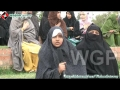 [13 April 2012][3] Interviews from affected Families of Gilgit Baltistan - Islamabad Dharna at Parliament house - Urdu
