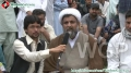 [13 April 2012] Message to Shia Media Persons - H.I. Raja Nasir Abbas - Parliament house Islamabad Dharna - Urdu