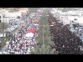Bahrain: Huge Anti-governmental Protest Rally during F1 race - 20APR12 - English