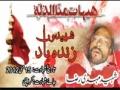 [15 May 2012] Shaheed Mehdi Raza Karachi, Pakistan - Urdu
