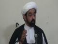 Friday Sermon - Sermon (Khutba) by Molana Musharaf Hussaini - English