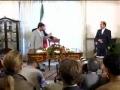 Ahmadinejad returns from Iraq - English