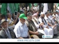 [16 July 2012] Palestinians rally to demand release of prisoners - English