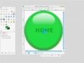 GIMP tutorial: Glossy Buttons Part 2 -  English