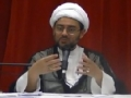 [Ramadhan 2012][6] Optimism with Allah 1 & Will of Imam Ali AS to Imam Hasan AS - H.I. Hyder Shirazi - English