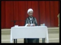 [Ramadhan 2012][9] Optimism with Allah 4 & Will of Imam Ali AS to Imam Hasan AS - H.I. Hyder Shirazi - English