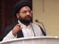 [AL-QUDS 2012] Hyderabad, India : Yaum al Quds Conference 2012 - (Maulana Taqi Agha) - Urdu