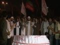 [17 August 2012 Quds Day ] Bomb Attack -Shuhda E Quds wo Palestine Day - Janaza Prayer نماز جنازہ شہدائے
