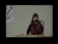 [AL-QUDS 2012] Seminar & Iftaar Dinner - Sr Karen Brothers - English