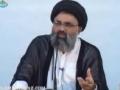(NAM) Non-Aligned Movement Summit in Tehran 2012 - Ustad Syed Jawad Naqavi - Urdu