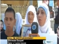 [06 Sept 2012] Relatives of Palestinian prisoners in Israel rally in front of Egyptian Embassy - English