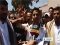 [14 Sept 2012] Yemenis storm US embassy slamming the mocking of Prophet Muhammed - English