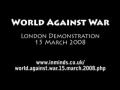 George Galloway speaking at London Protest - 15 Mar 2008
