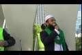 Toronto Protest Against Blasphemous Movie, Speech By Imam Habib-ur-Rehman - Urdu
