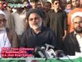 [27 Sep 2012] MWM Press Conference regarding Shia Target Killing in Karachi and Quetta - Karachi - Urdu