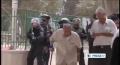 [05 Oct 2012] Israeli tour of Al-Aqsa compound sparks clash - English