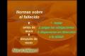Leyes prácticas 21 El fallecimiento El moribundo - Spanish