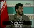President Mahmoud Ahmadinejad - Martyrdom Is The Best Art - English Subtitles