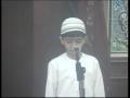 *Majlis* Imam  e Zamana and our duty - Youngest Zaakir e Imam Hussain a.s - Urdu