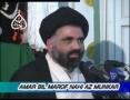 [03] Amr Bil Maroof Wa Nahi Anil Munkar - Mohurrum 2007 - Ustad Syed Jawad Naqavi - Urdu