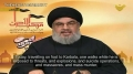[CLIP] Nasrallah to Extremists: Your Crimes Against Shias, Christians, & Other People are Useless - Arabic sub Engli