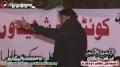 [12 Jan 2013] Karachi Dharna - Speech Shaukat Raza Shaukat - Urdu