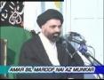 [07] Amr Bil Maroof Wa Nahi Anil Munkar - Mohurrum 2007 - Ustad Syed Jawad Naqavi - Urdu