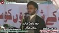 [14 Jan 2013] Karachi Dharna - Speech H.I. Shahenshah Naqvi - Urdu