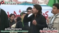 [13 Jan 2013] Karachi Dharna - Noha By Br. Jan Saleem Raza - Urdu