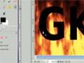 Gimp Tutorial:  Animated Fire Text  - English