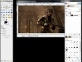 GIMP - How to combine two pictures together using - English