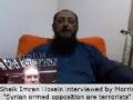 Syrian Armed Opposition FSA are Terrorists Sheik Imran Hosein - English