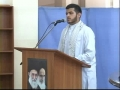 AGAINST OPPRESSION - Tarana recited by brother Sibtain in the Ulema Confrence held at JOW - Urdu