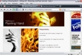 GIMP - Human Torch Effect a Flaming Hand - English