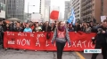 [27 feb 2013] Students arrested during protest against tuition fee hikes in Quebec - English